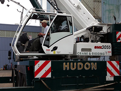 N. C. Hudon Inc., crane and rigging services in Greater New Bedford, MA